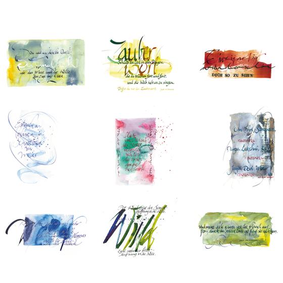 9 Postkarten