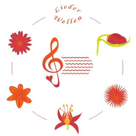 Lieder-Wellen - Blütenkranz