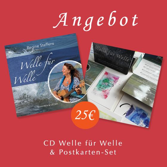 CD Welle für Welle & Postkarten-Set