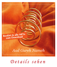 Aad Gureh Nameh - Booklet und MP3s zum Download